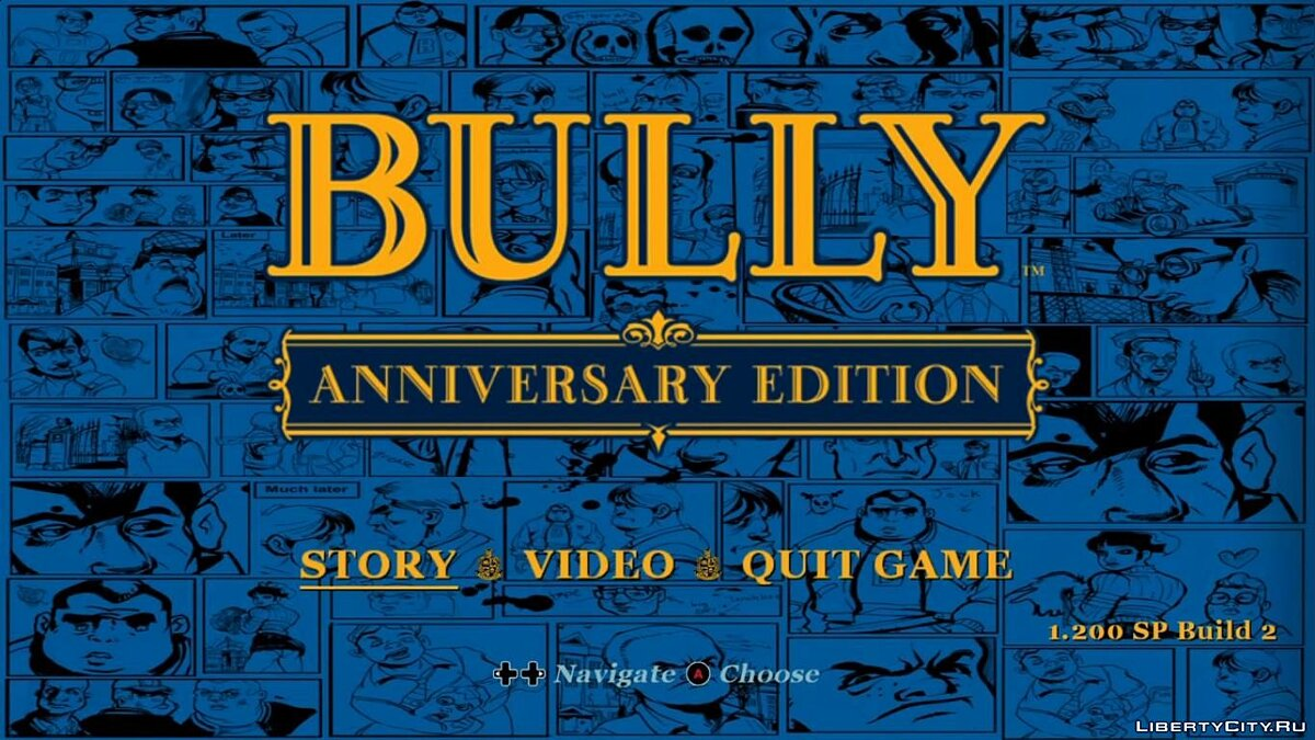 Mod Anniversary Edition HUD for Scholarship Edition (v5) for Bully: Scholarship Edition