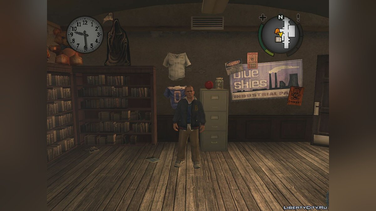 Mod Open sports jacket for Bully: Scholarship Edition