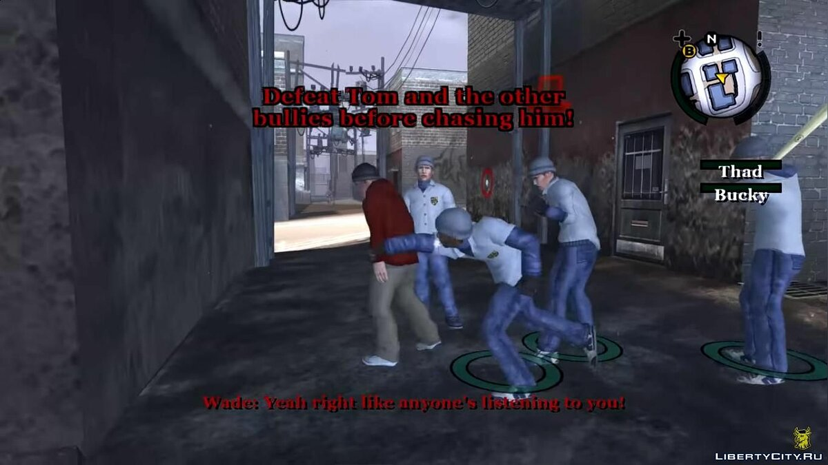 Mod Helping The Nerds Custom Mission for Bully: Scholarship Edition