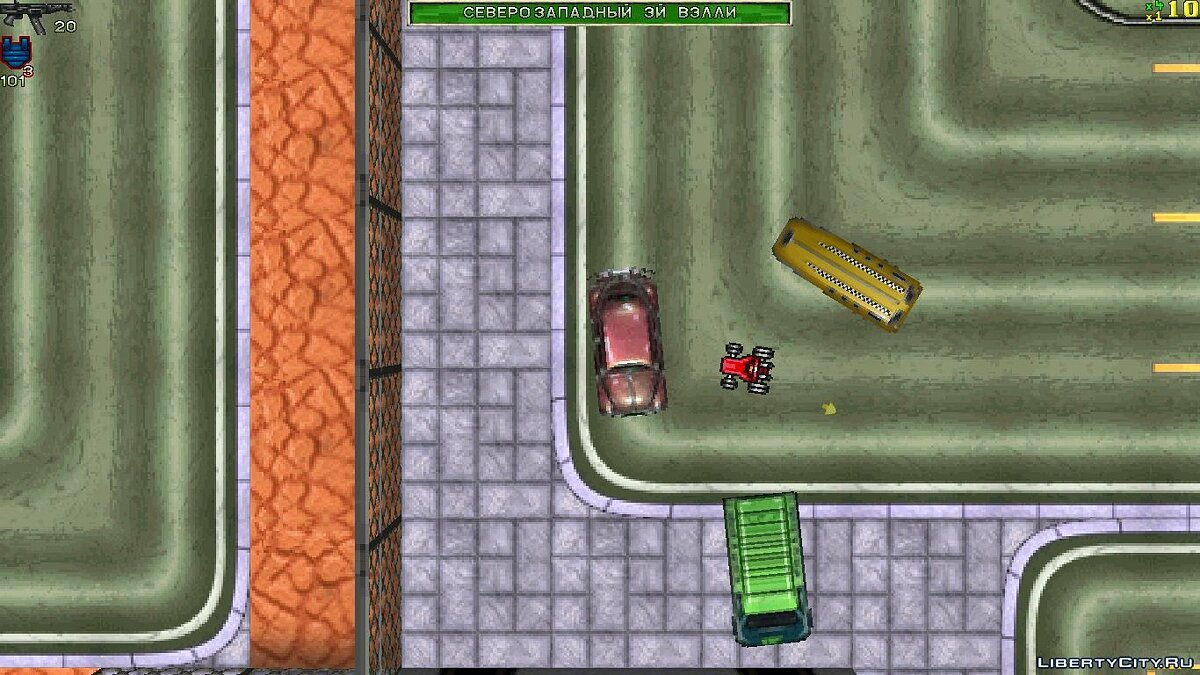 Car KART from MicroMachines (author) for gta-1