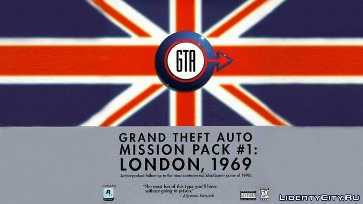 Global mod GTA London 1969: Mission pack # 1 for gta-1