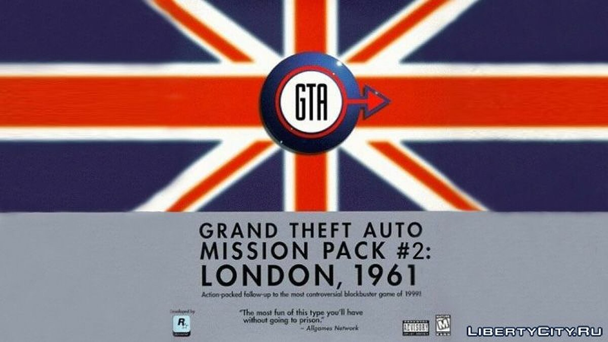 Global mod GTA London 1961: Mission pack # 2 for gta-1
