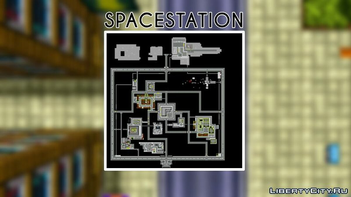 SPACESTATION GTA - Multiplayer Map for gta-1 - Картинка #1