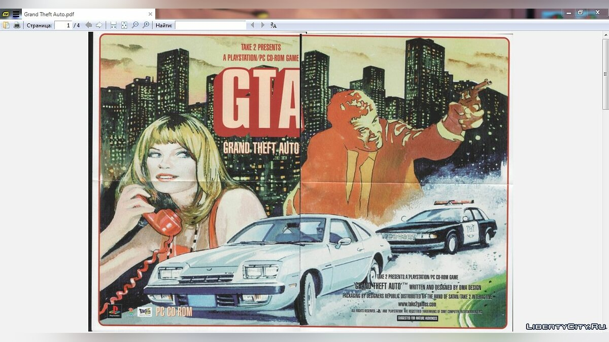 Mod Official paper maps and poster (pdf) for gta-1