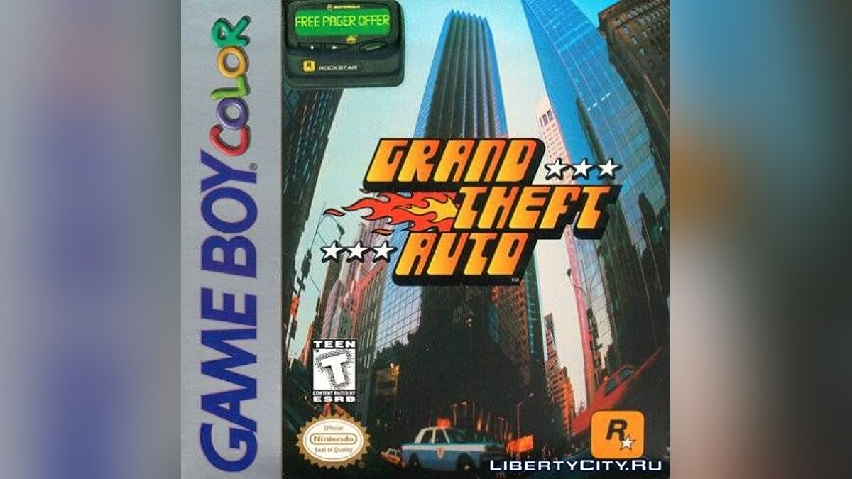 Mod GTA1 (GBC) for gta-1
