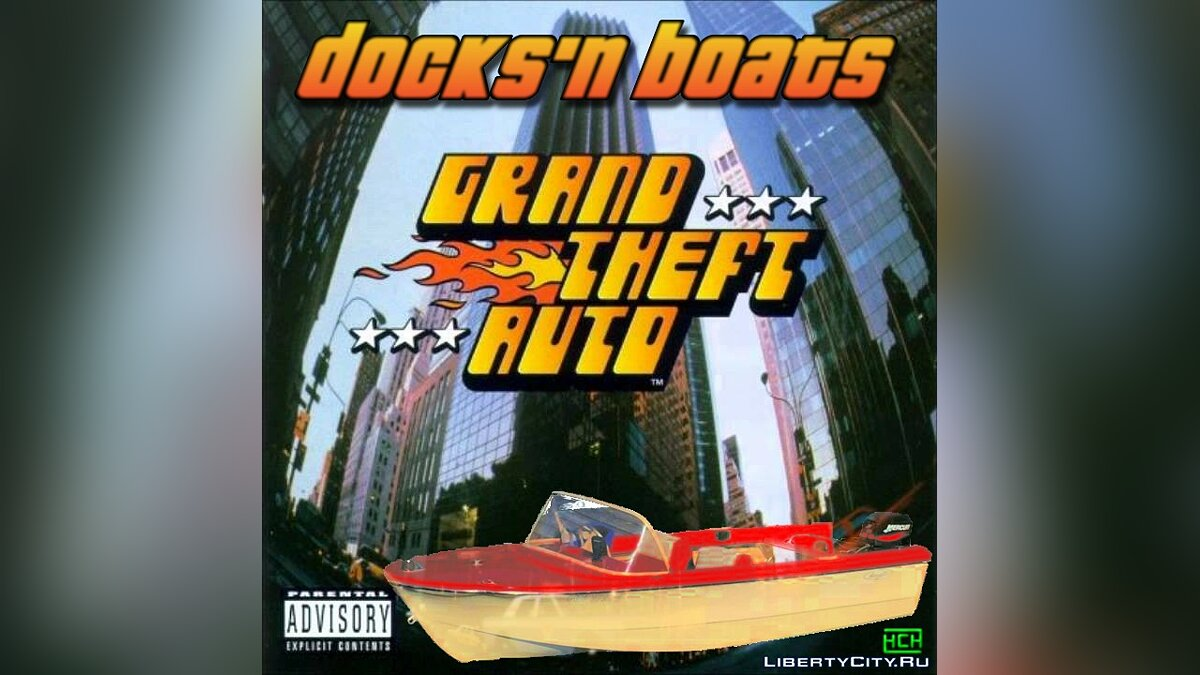 Docks'n Boats v.2.01 - Mod on boats for gta-1 - Картинка #1
