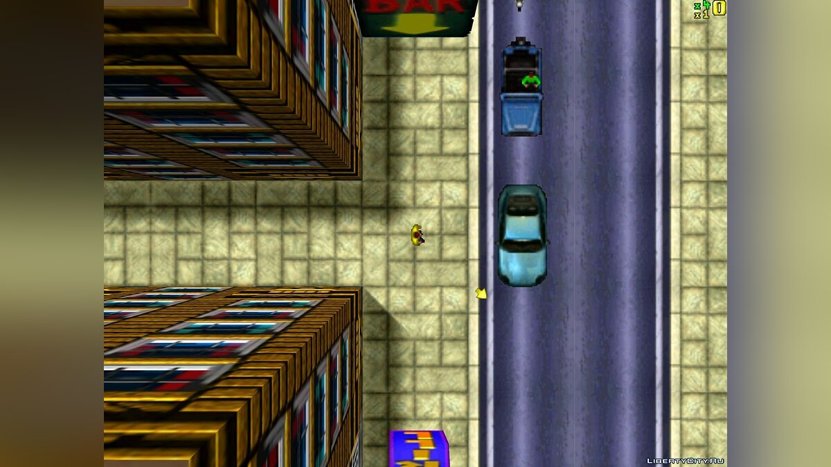 Mod Demo GTA1 (3Dfx / 3Dfx Special, MS-DOS) for gta-1