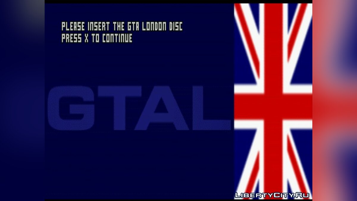 Mod Standalone Patch for GTA: London'69 (PSX) for gta-1