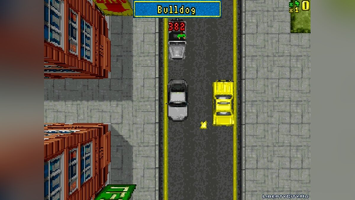 Mod Demo GTA1 (8-bit, MS-DOS) for gta-1