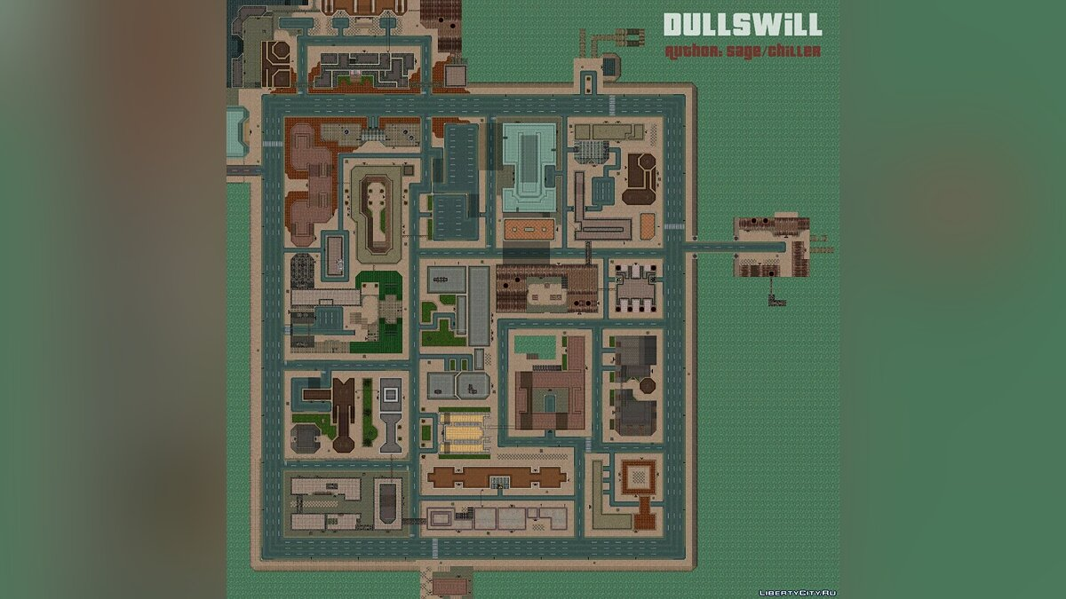 Dullswill - New map for GTA 2 for gta-2 - Картинка #1