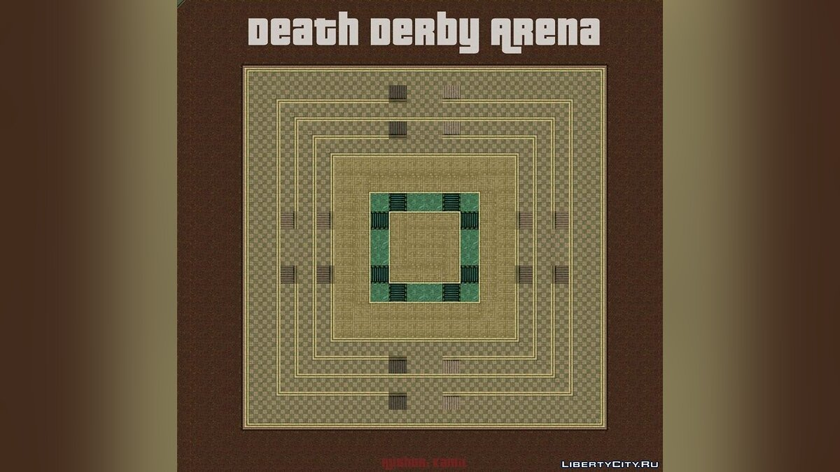 Death Derby Arena - New map for GTA 2 for gta-2 - Картинка #1