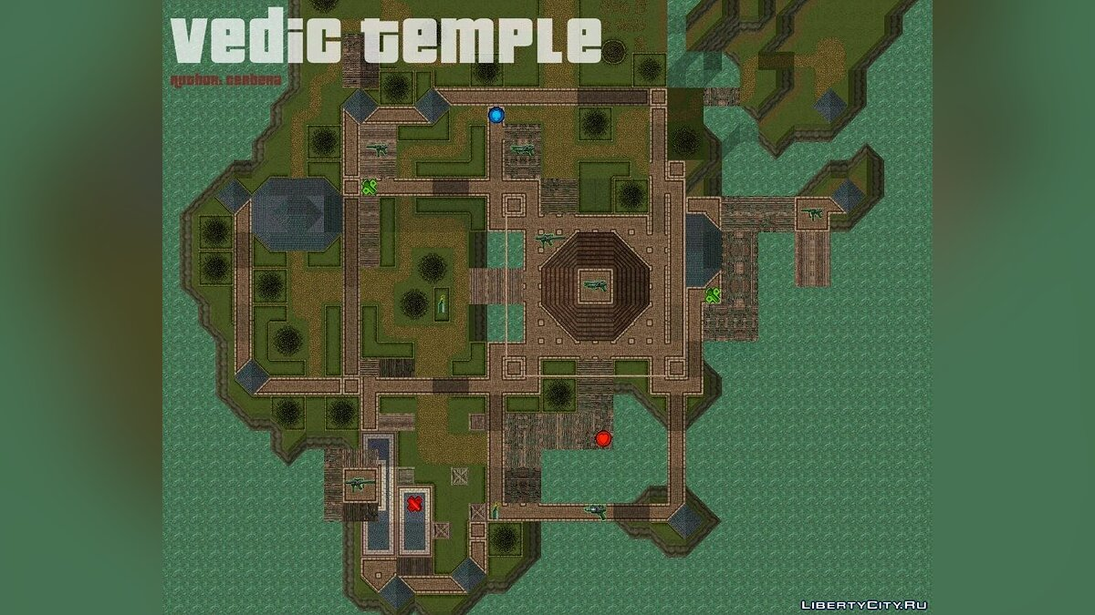 Maps Vedic Temple for gta-2