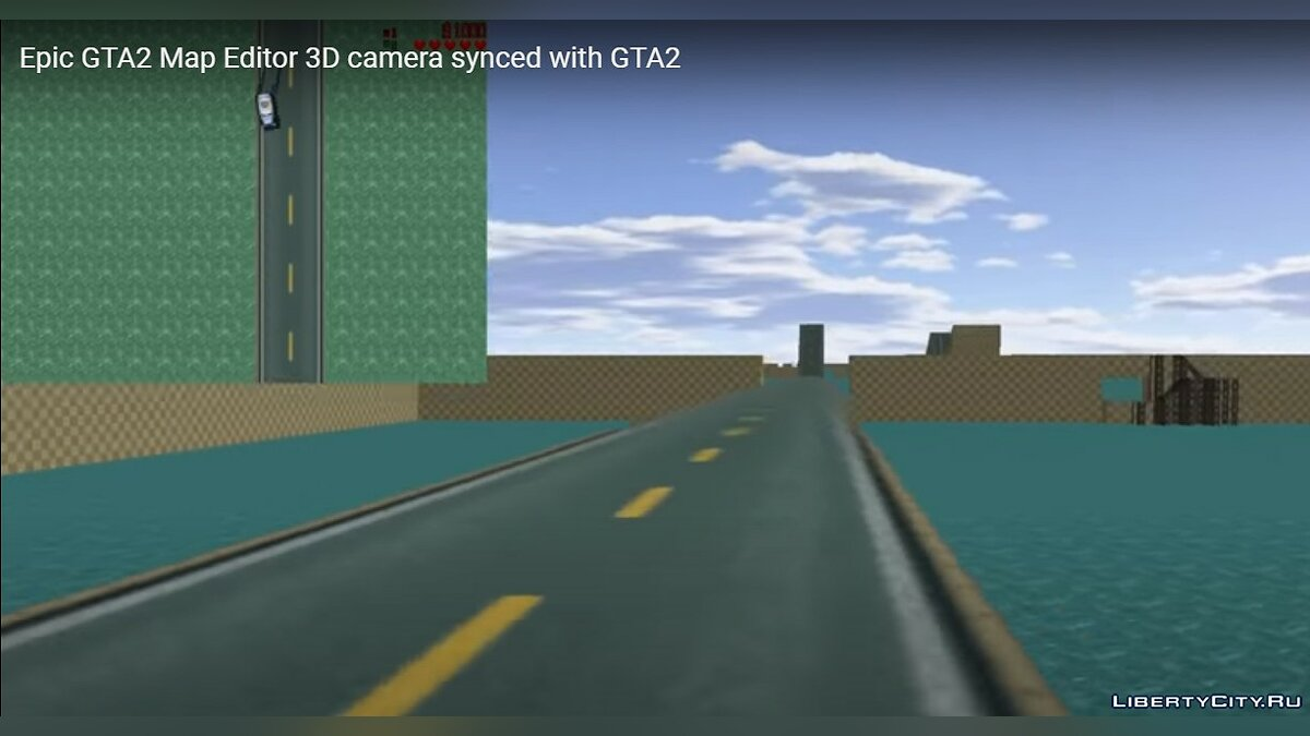 GTA 2 Programs 1st person camera from Epic GTA2 Map Editor for gta-2