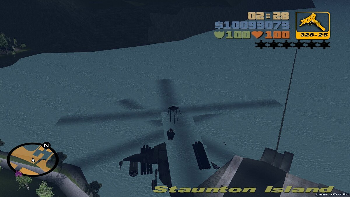Planes and helicopters Ka-50 for Fashion Aircrafts (fix) for GTA 3