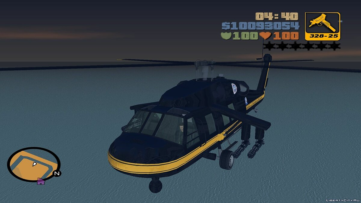 Planes and helicopters Annihilator from GTA IV for fashion Aircrafts for GTA 3