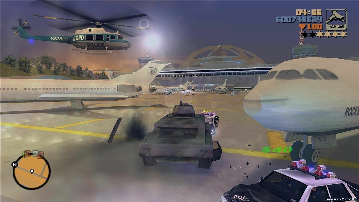 Planes and helicopters Fix helicopters for GTA 3