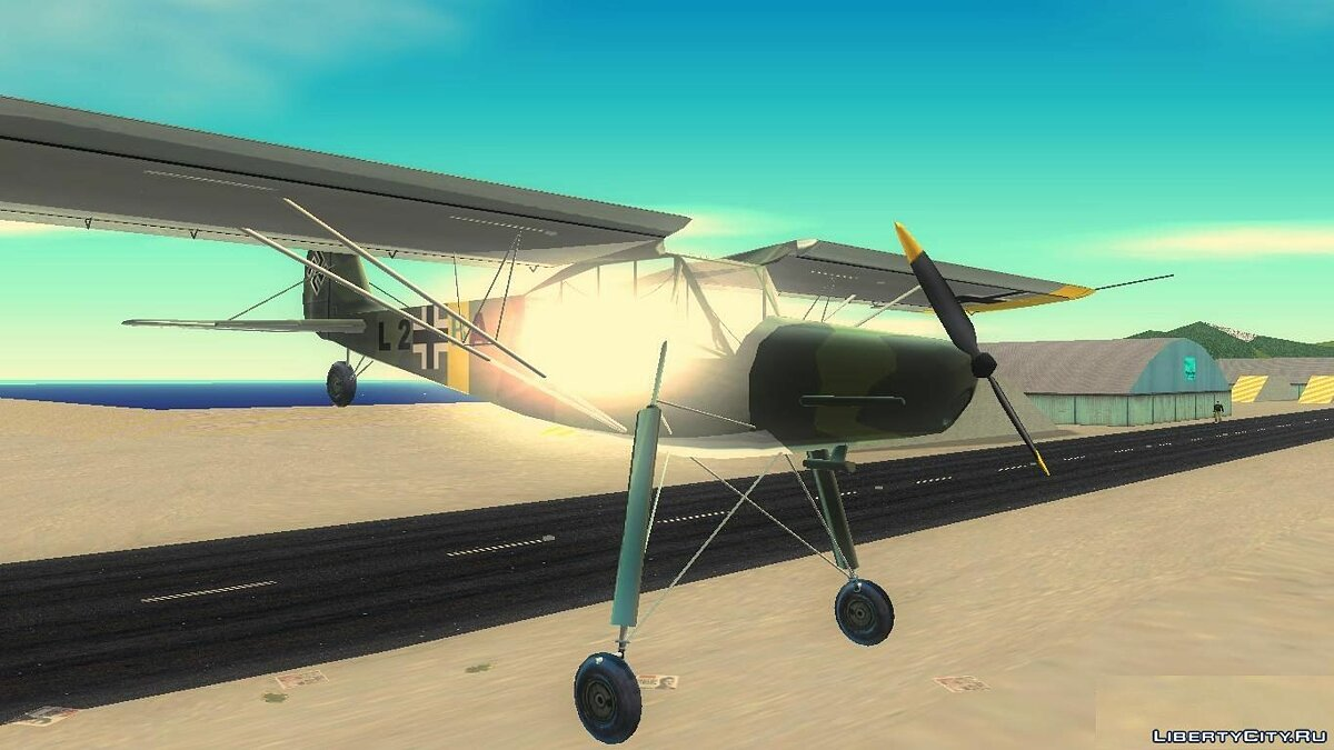 Fi-156 Storch for GTA 3 - Картинка #7