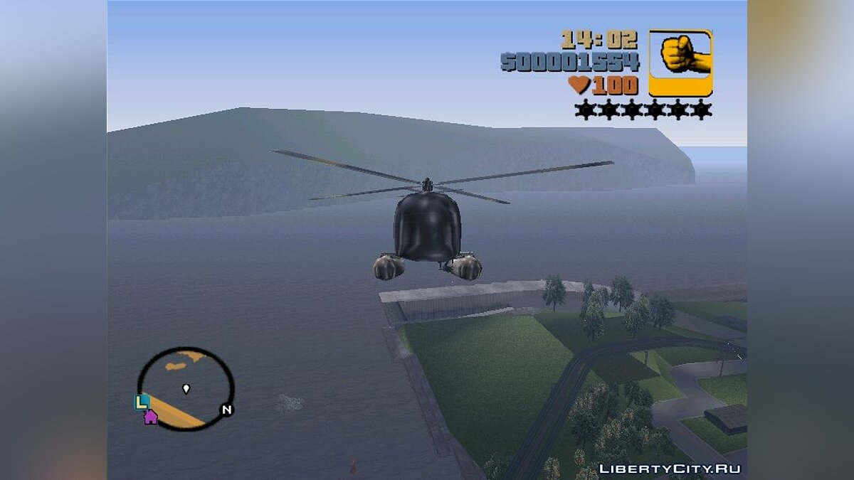 Helicopter Sea Sparrow for GTA 3 - Картинка #3