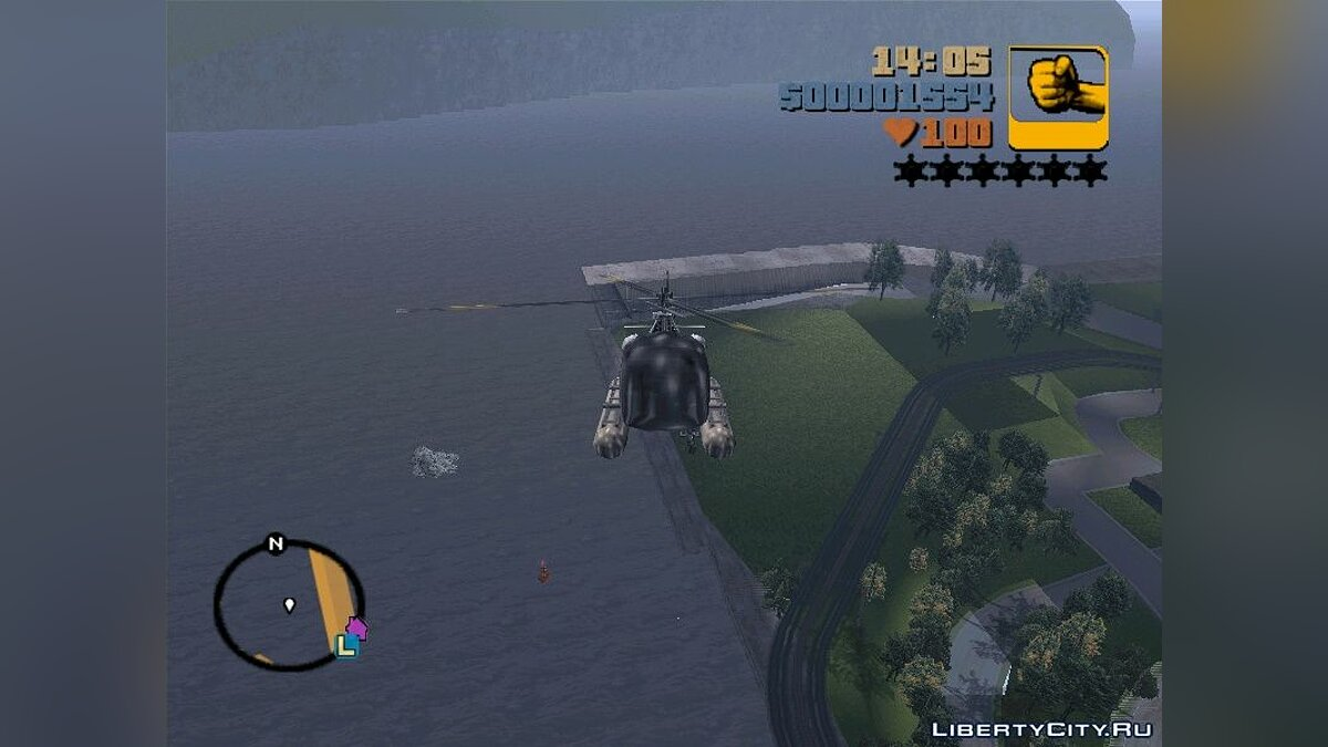 Helicopter Sea Sparrow for GTA 3 - Картинка #2