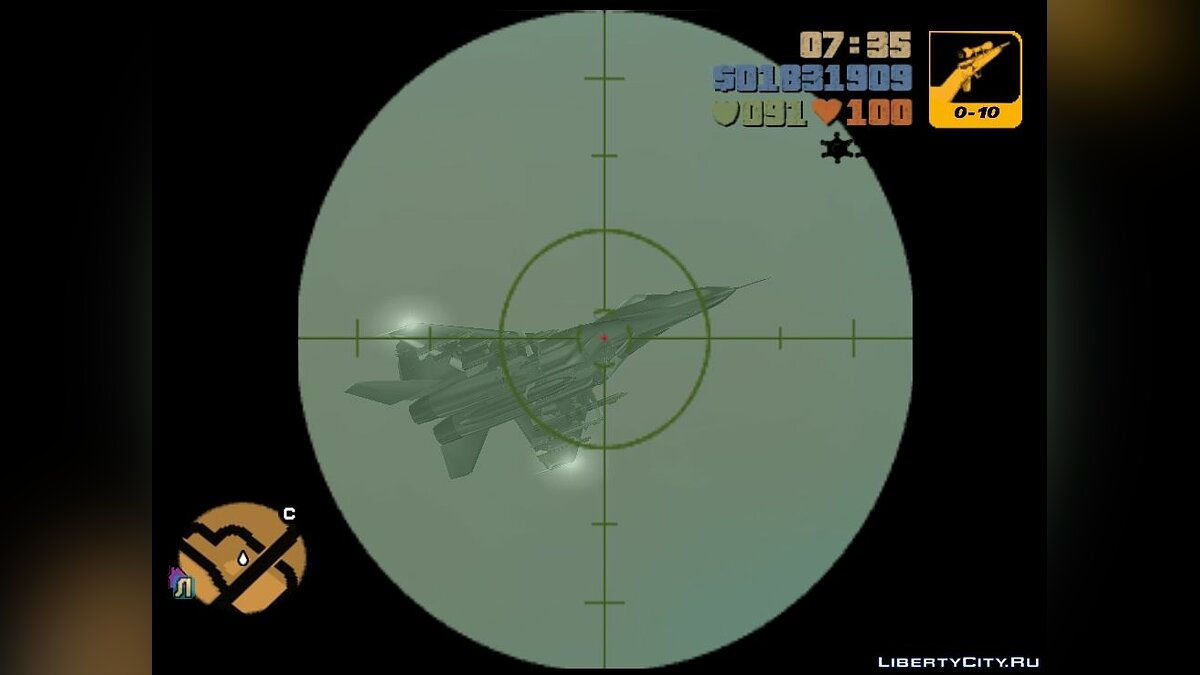 MiG-29 from Call of Duty for GTA 3 - Картинка #4