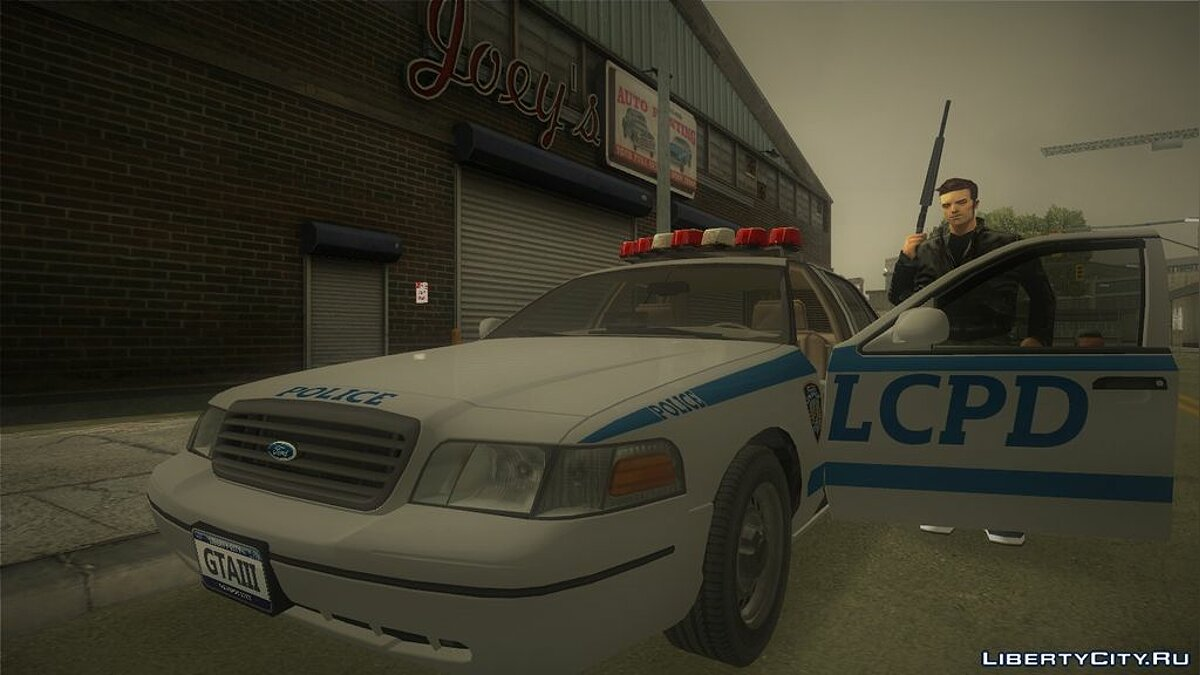 Ford Crown Victoria LCPD for GTA 3