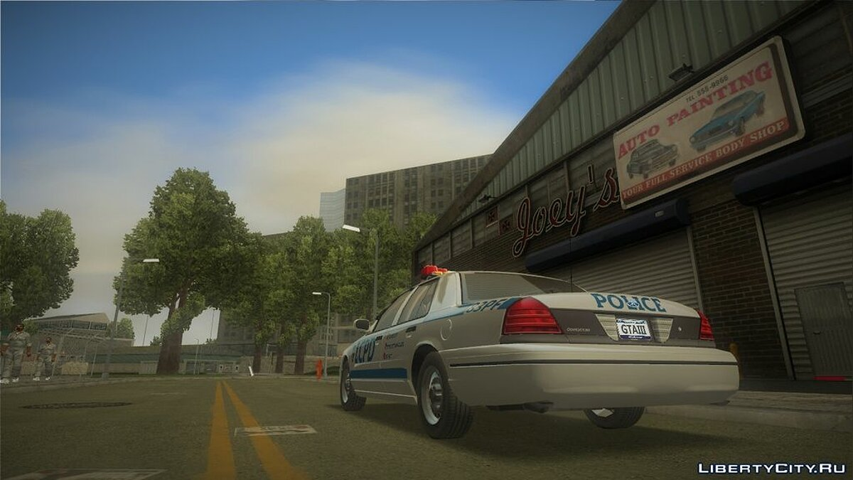 Ford Crown Victoria LCPD for GTA 3 - screenshot #3