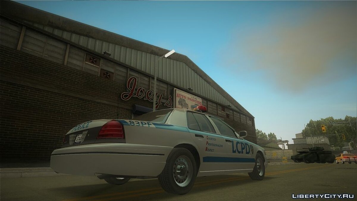 Ford Crown Victoria LCPD for GTA 3 - screenshot #2