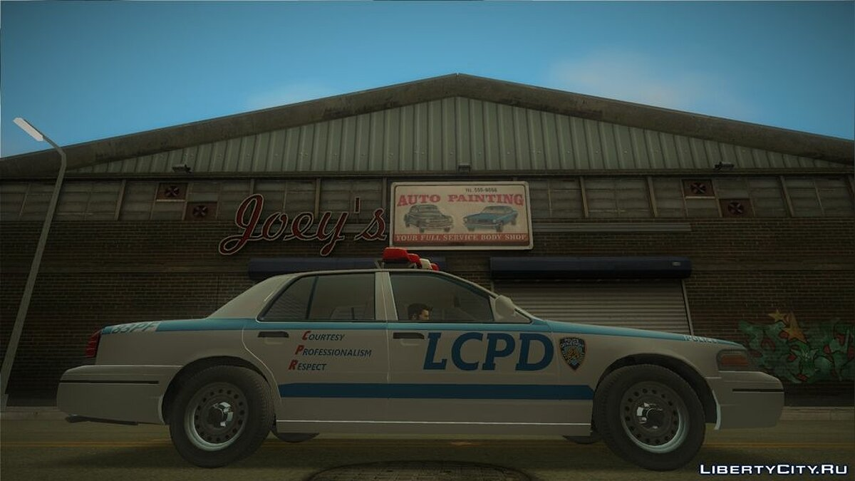 Ford Crown Victoria LCPD for GTA 3 - screenshot #4
