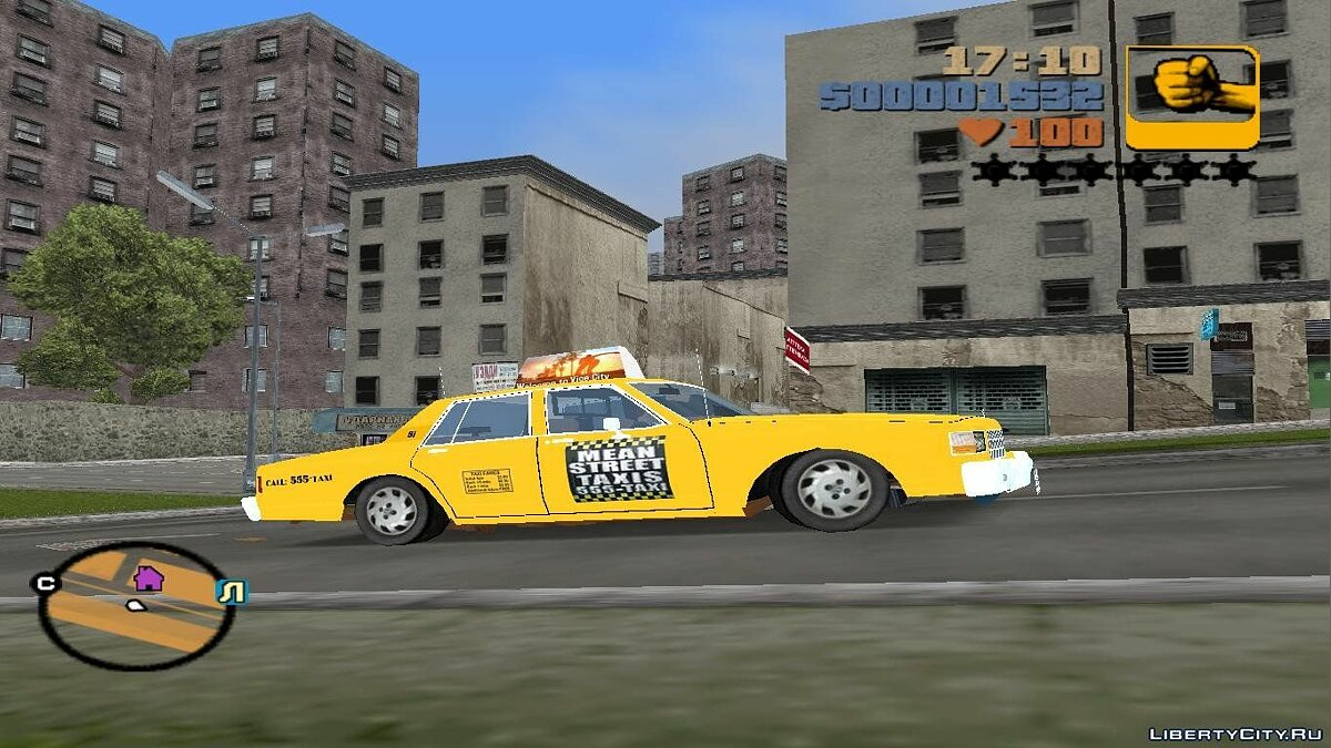 Chevrolet caprice 1986 mst cab for GTA 3 - Картинка #1