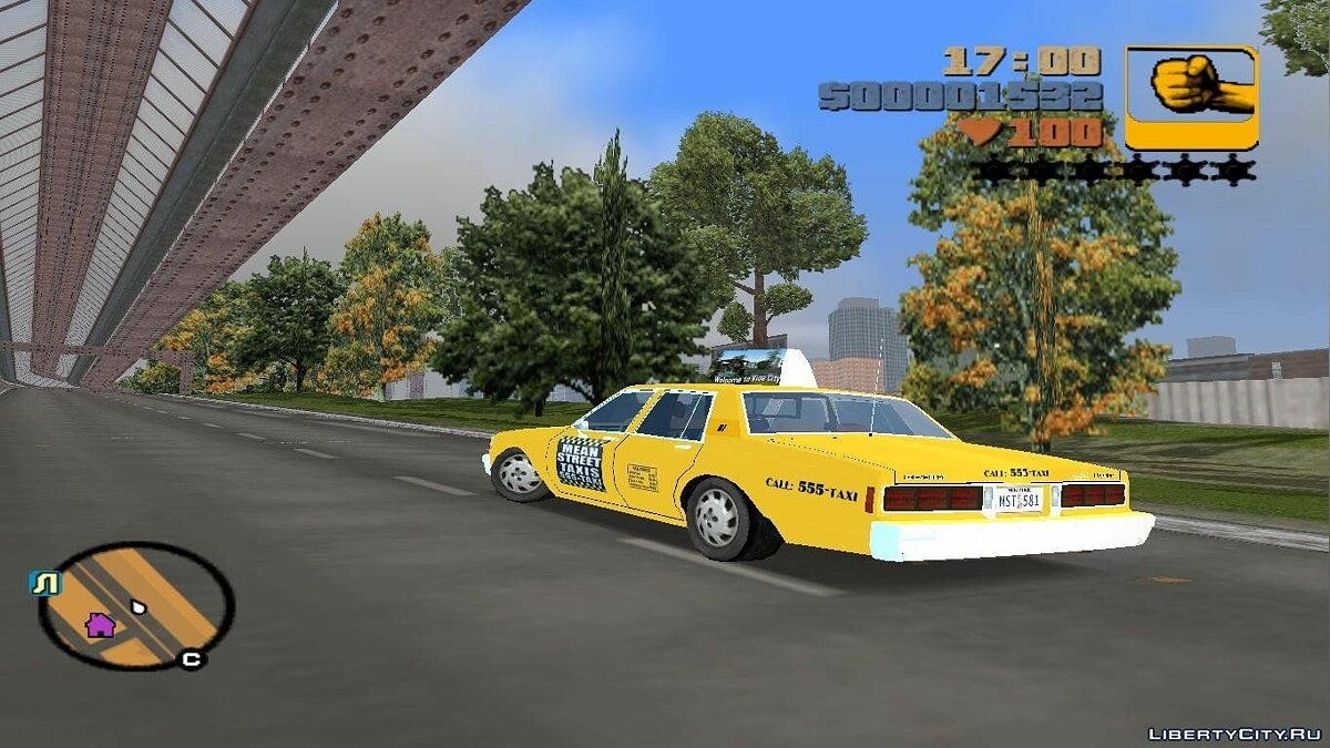 Chevrolet caprice 1986 mst cab for GTA 3 - Картинка #2