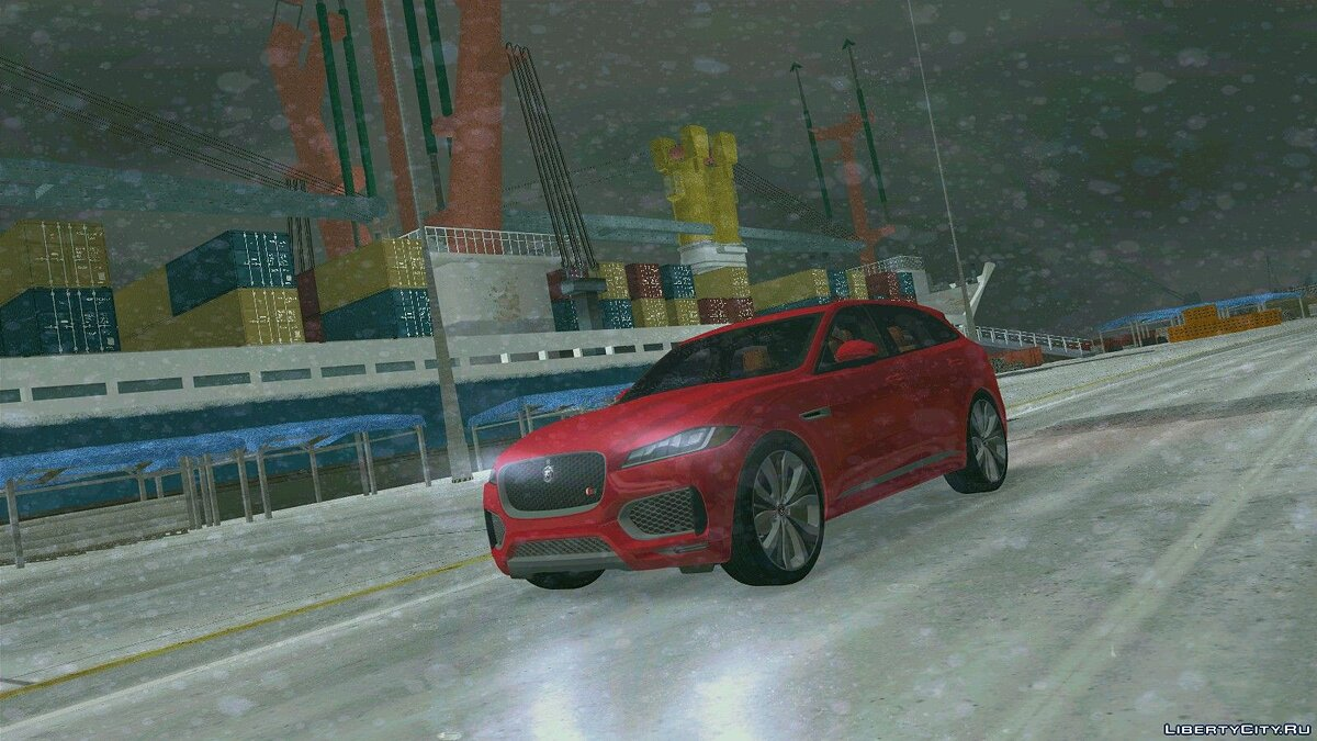 Car Jaguar f pace for GTA 3