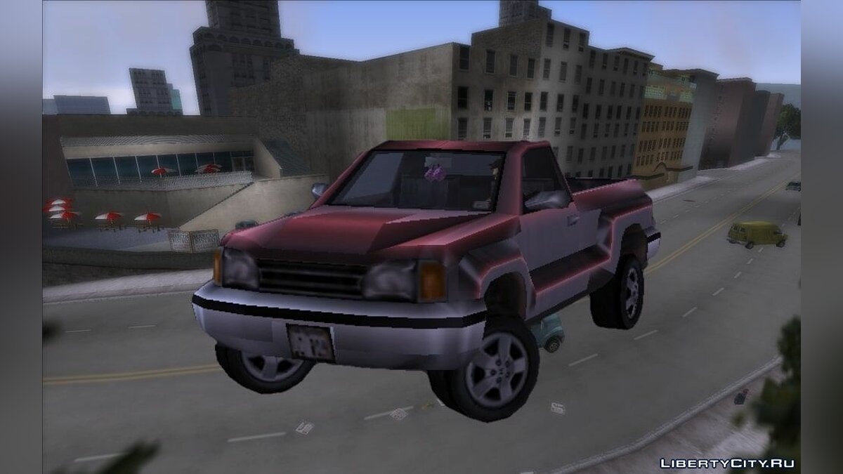 Car GTA 3: Beta Bobcat (Normal and Lowered) for GTA 3
