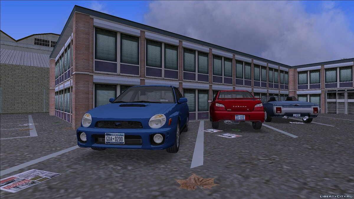 Car Subaru Impreza Sedan (GD) (US-Spec) 2002 for GTA 3