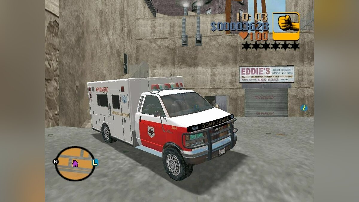 First Aid from GTA 4 for GTA 3