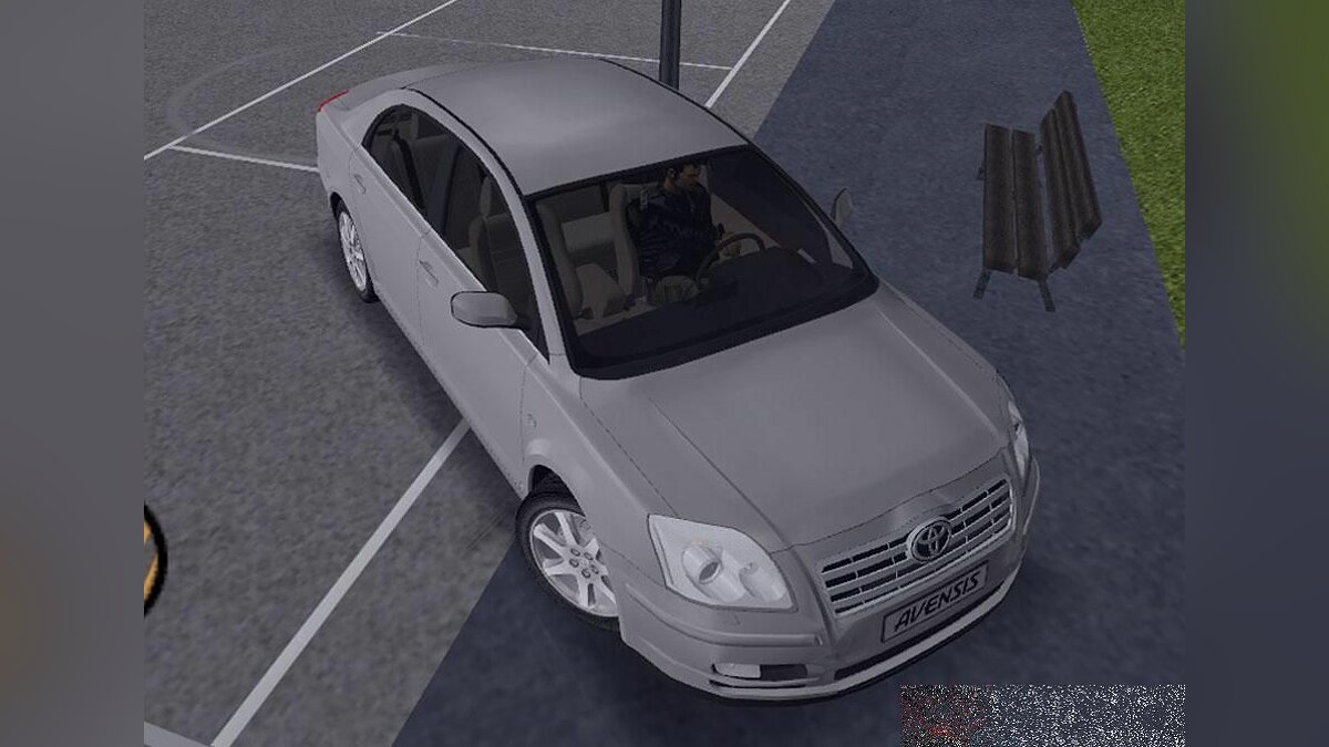 Toyota Avensis 2003 v1.0 for GTA 3