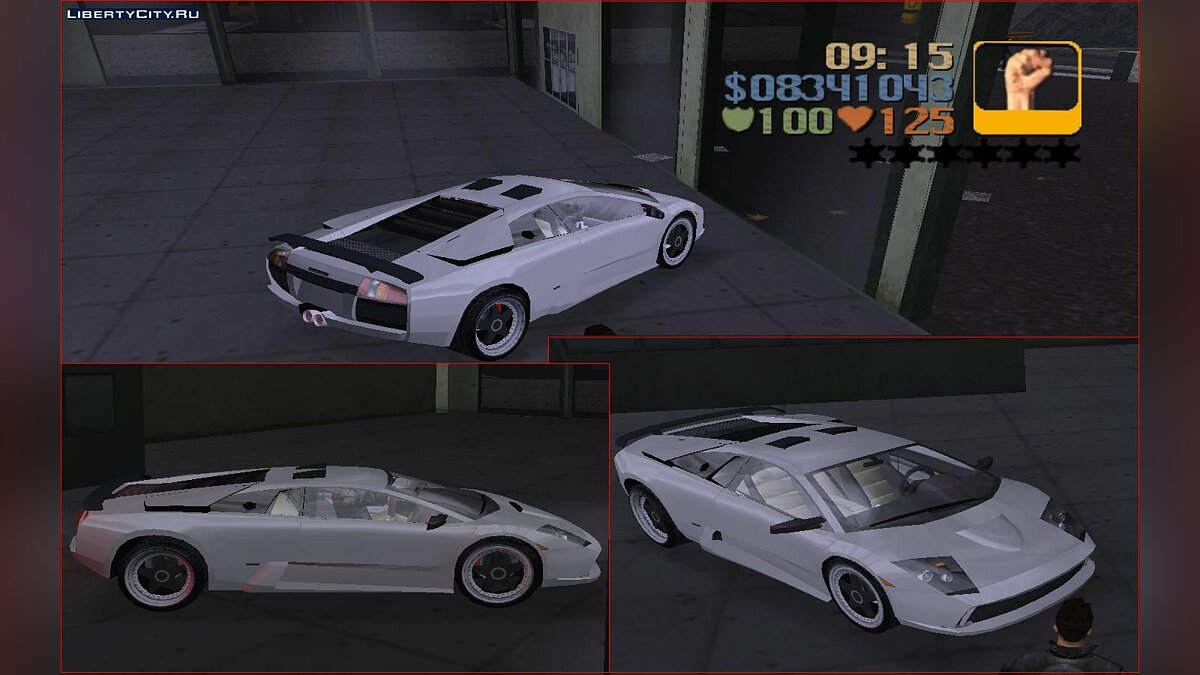 Lamborghini for GTA 3