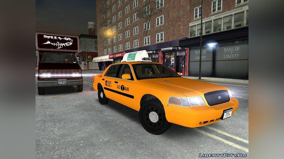 Ford Crown Victoria P70 LWB Taxi for GTA 3