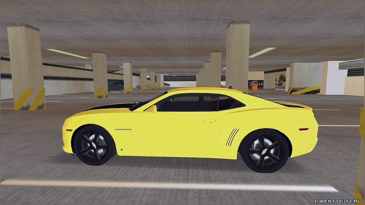 2010 Chevrolet Camaro for GTA 3 - Картинка #4