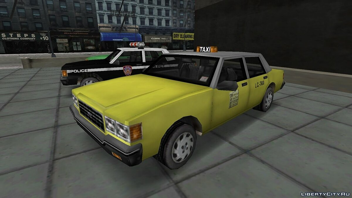 Car Brigham in the style of GTA 3 for GTA 3