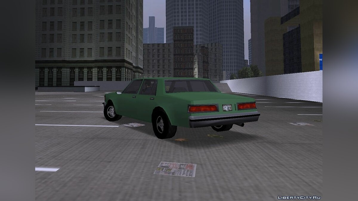 Car GTA 3: Beta Improved Brigham for GTA 3