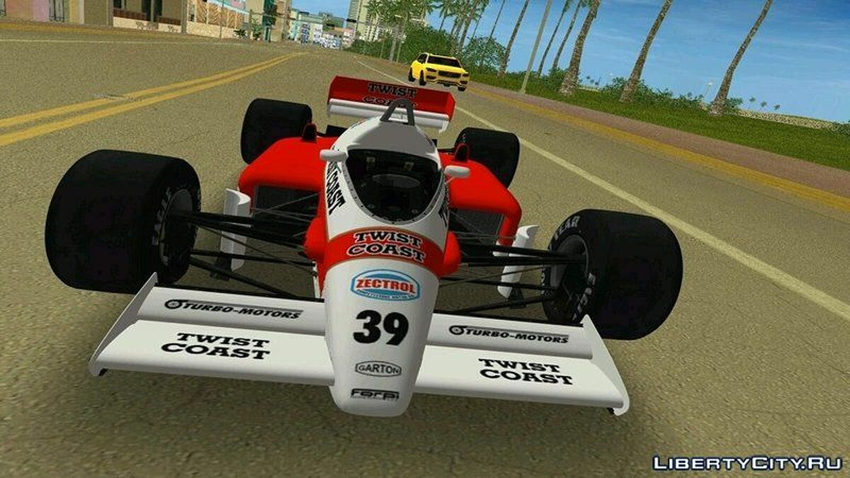 Car Lotus 98T Renault for GTA 3