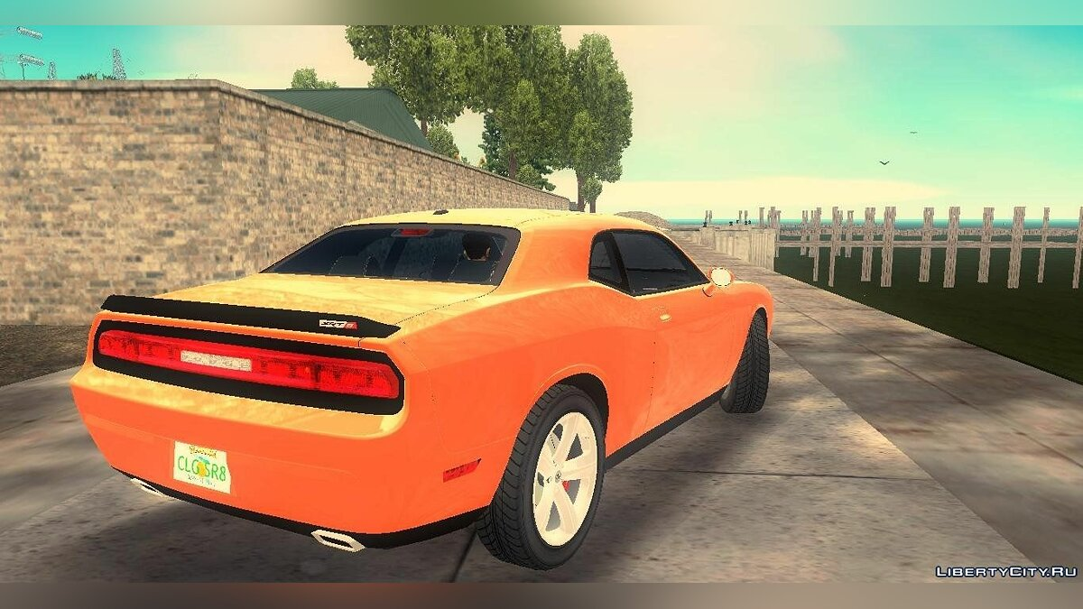 Car Dodge Challenger SRT-8 for GTA 3
