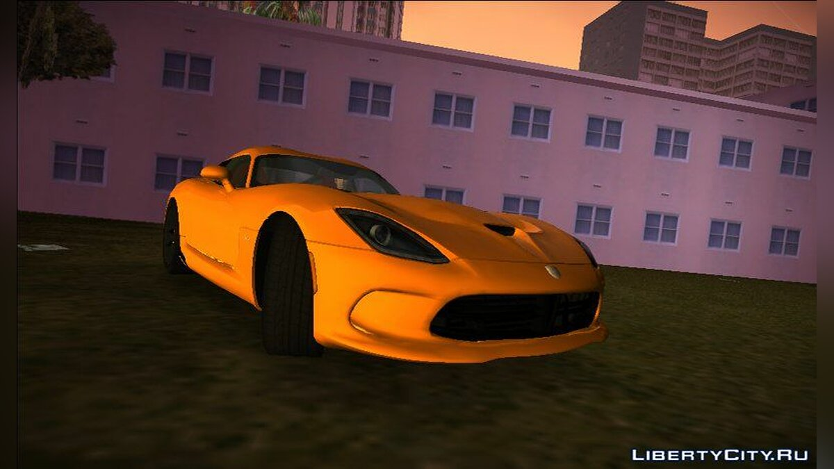Car Dodge SRT Viper GTS 2013 for GTA 3