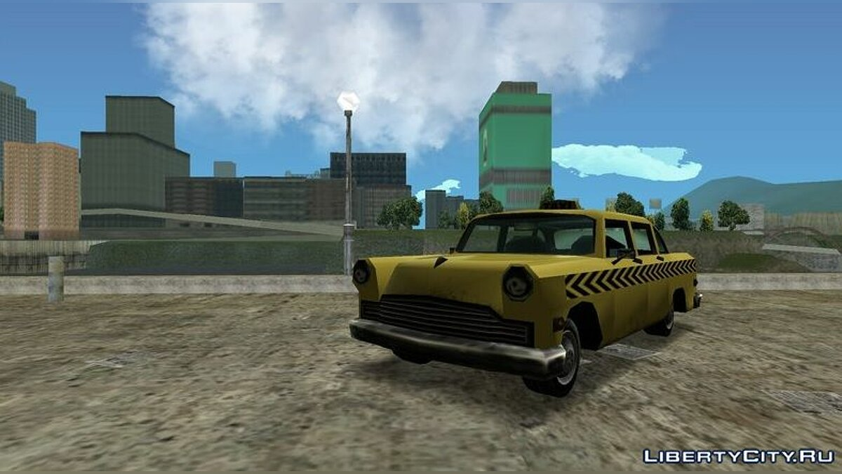 Car Cabbie from GTA VCS for GTA 3