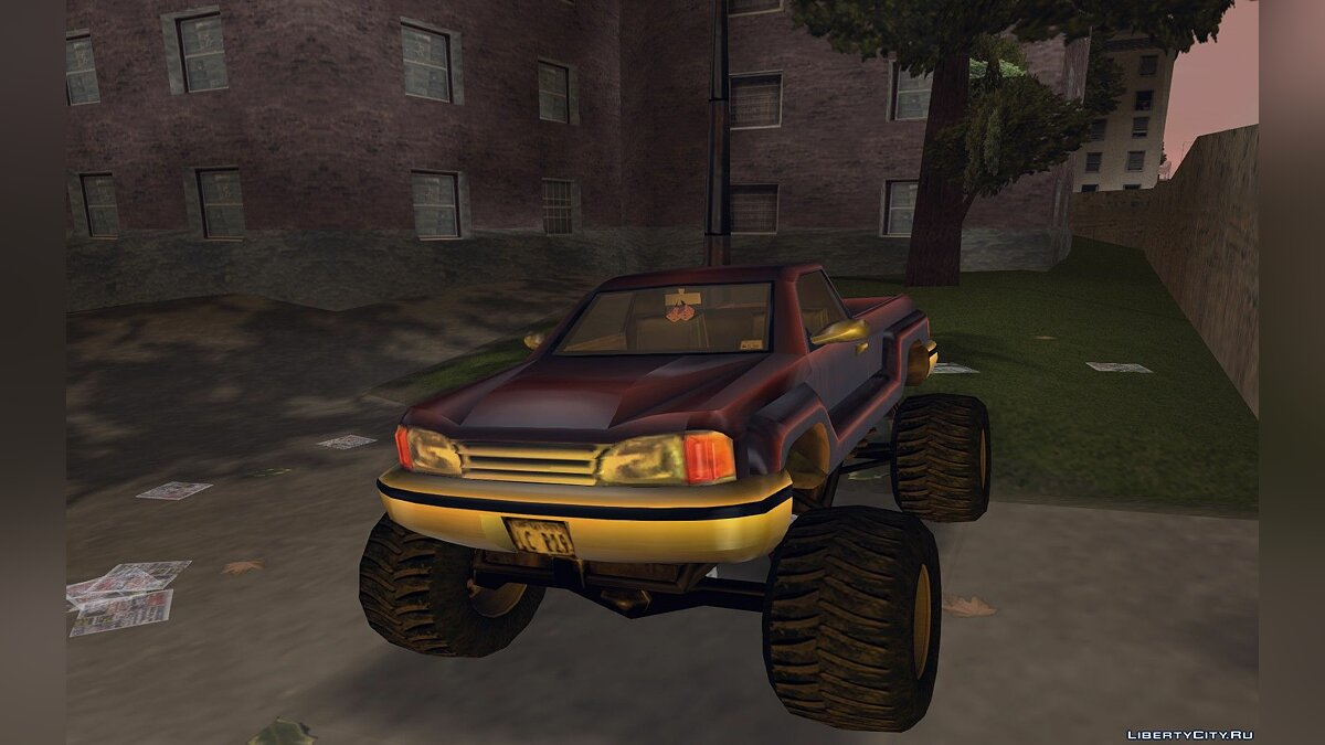 Car Bobcat monster for GTA 3
