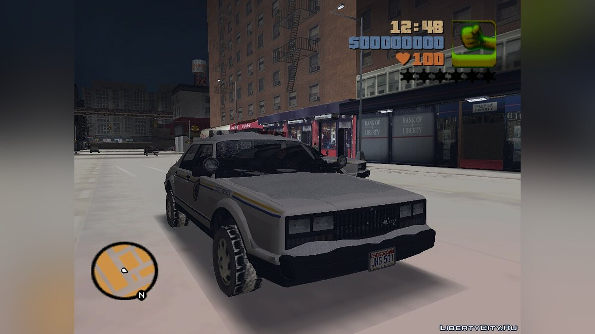 GTA 5 Esperanto Police (For winter fashion) for GTA 3 - Картинка #1