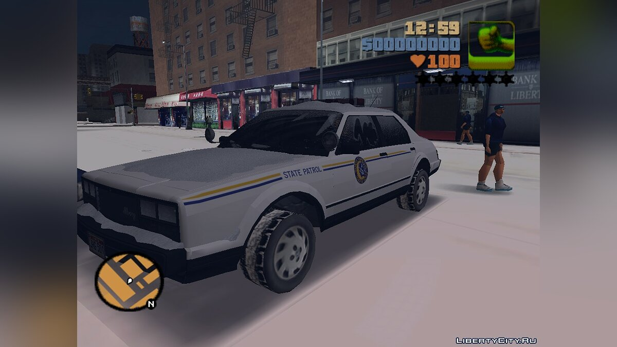 GTA 5 Esperanto Police (For winter fashion) for GTA 3 - Картинка #2