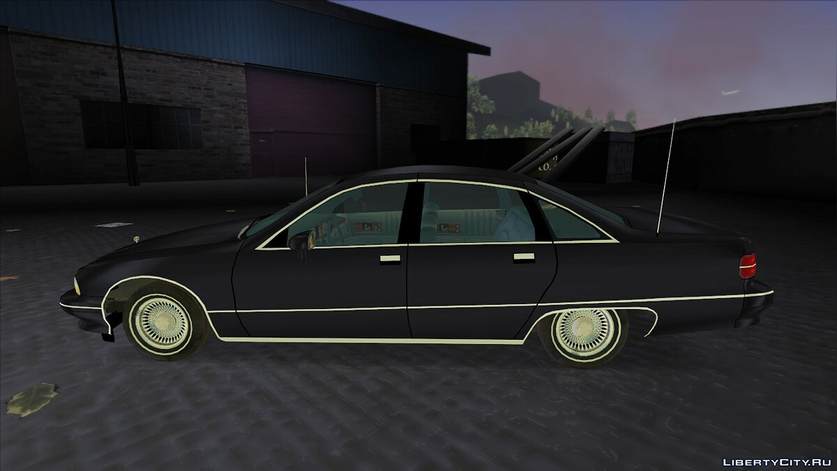 Chevrolet Caprice Classic 1991 v2.0 for GTA 3 - Картинка #7