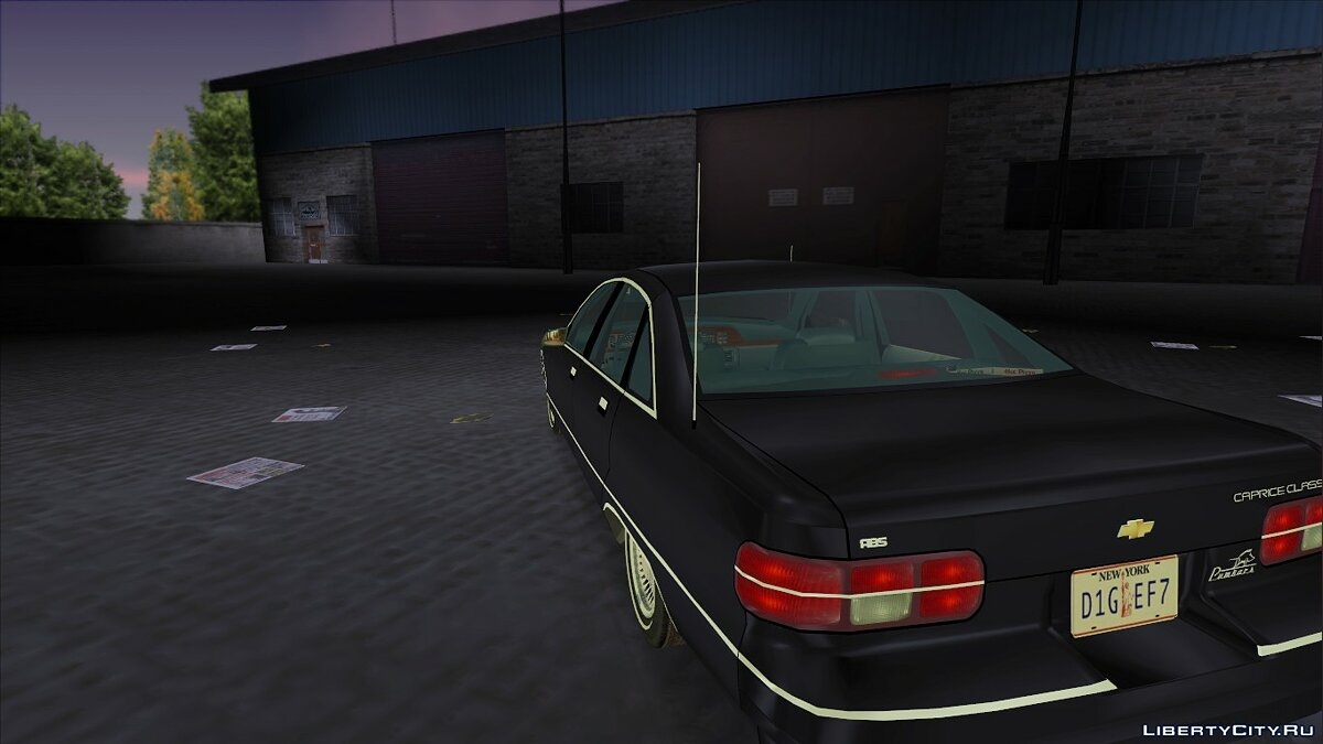 Chevrolet Caprice Classic 1991 v2.0 for GTA 3 - Картинка #2