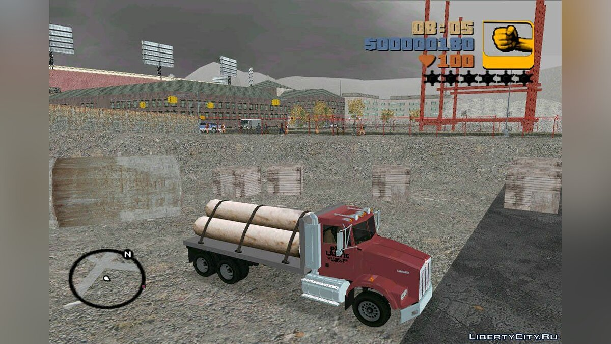 Kenworth T-800 Construction Truck for GTA 3 - Картинка #2